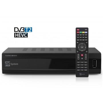 TELE system DVB- T2 HEVC (10 bit)  Receiver -