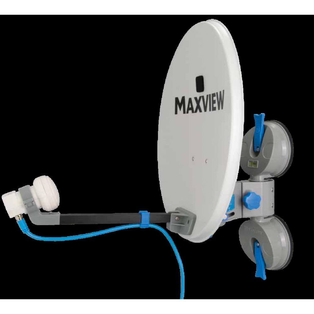 Maxview Remora Pro - Draagbaar Satellietsysteem met zuigmontage -