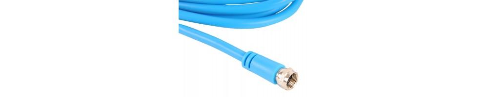 Maxview F naar F-connector flexibele Flylead twin coaxkabel -