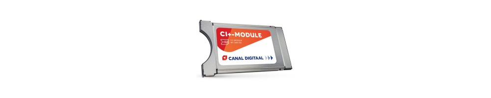Hoofdkaart CanalDigitaal met CI+ module -