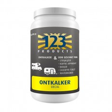 123 Products Decal (Ontkalker)