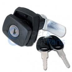 FAP Compressie Push-lock Luikslot Rechthoekig Zwart - Incl. sleutels en cilinders