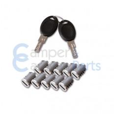 FAP Sleutels en Cilinders ''HSC'' - Compleet
