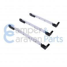 Polyplastic 400 Serie (polyfix) | Raamuitzetters klik zwart incl. montagevoet -