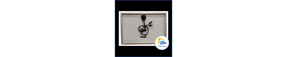 C &C Parts SOLAR PANEL 50W-12V MONOCRYSTALLINE -