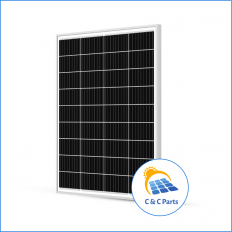 C & C Parts SOLAR PANEL 100W-12V MONOCRYSTALLINE -