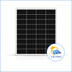 C & C Parts SOLAR PANEL 100W-12V MONOCRYSTALLINE -