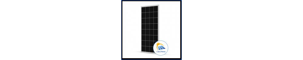 C & C Parts SOLAR PANEL 160W-12V MONOCRYSTALLINE -