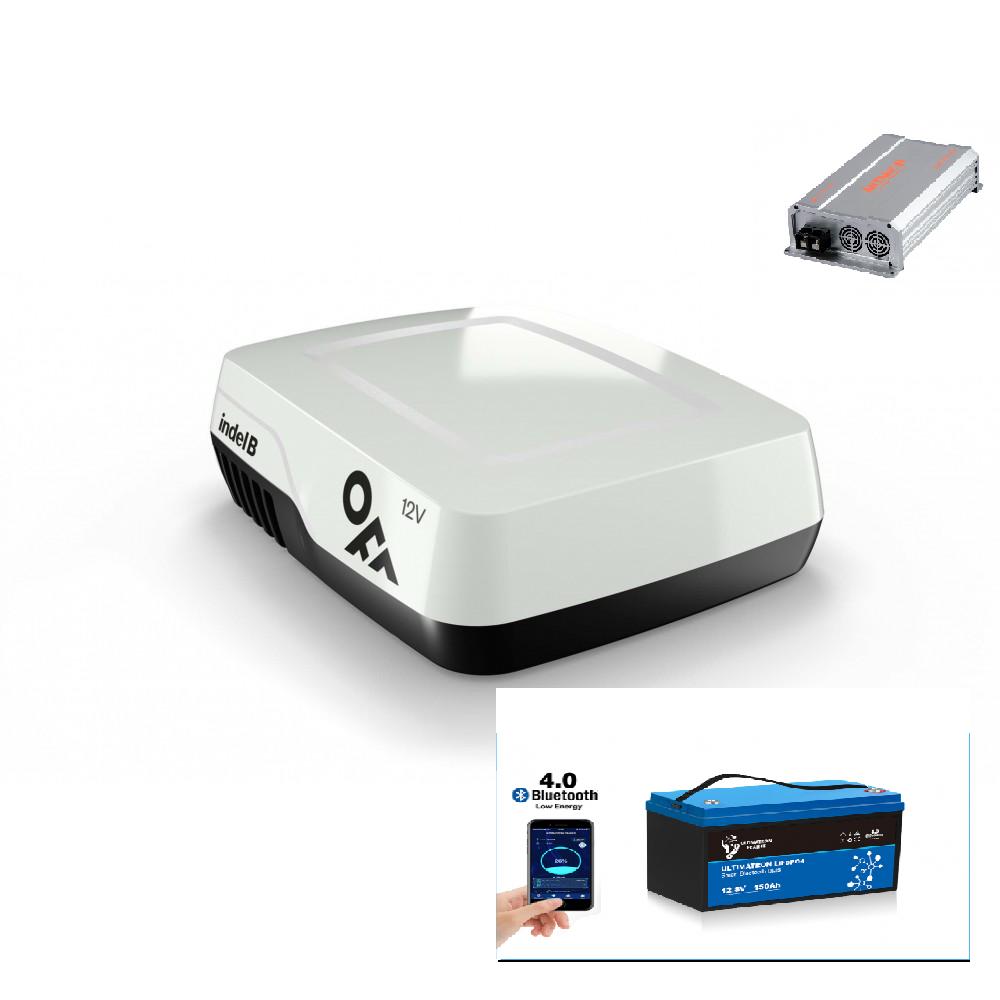 Airco op 12 volt compleet pakket -