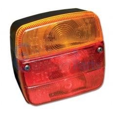 Module achterlicht aanhangwagen ''type 4'' links/rechts - met kentekenverlichting -