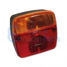 Module achterlicht aanhangwagen ''type 5'' links/rechts - met kentekenverlichting -
