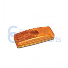 Zijmarkering oranje 110x40x24 mm -