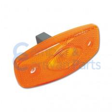 Zijmarkeringslicht oranje 102x44x12 mm -