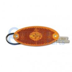 Zijmarkeringslicht oranje LED voor Bürstner en T.E.C. -
