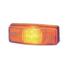 Hella zijmarkeringslicht oranje 110x40x25 mm -