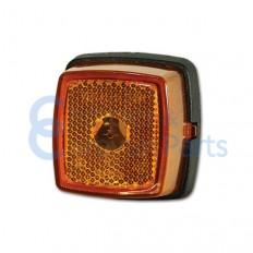 Zijmarkeringslicht oranje 65x62x40 mm -
