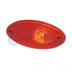 Hella markeringslicht rood 101.6x45 mm -