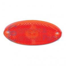 Markeringslicht rood LED 100x44x12 mm -