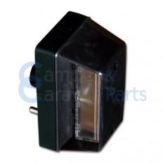 Kentekenverlichting 117x60x67 mm rechts -
