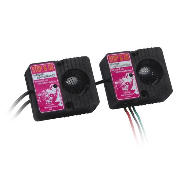 Stop & Go Anti-Marter Ultrasoon Apparaat met twee luidspeakers -