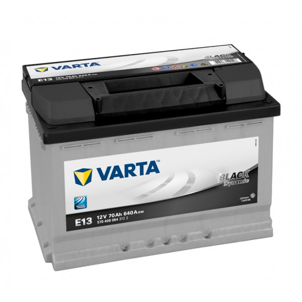 Varta  black dynamic  70 ah start accu -