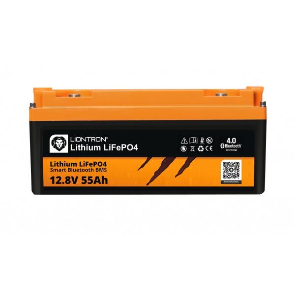 LIONTRON LiFePO4 12.8V 55Ah LX Smart BMS met Bluetooth -