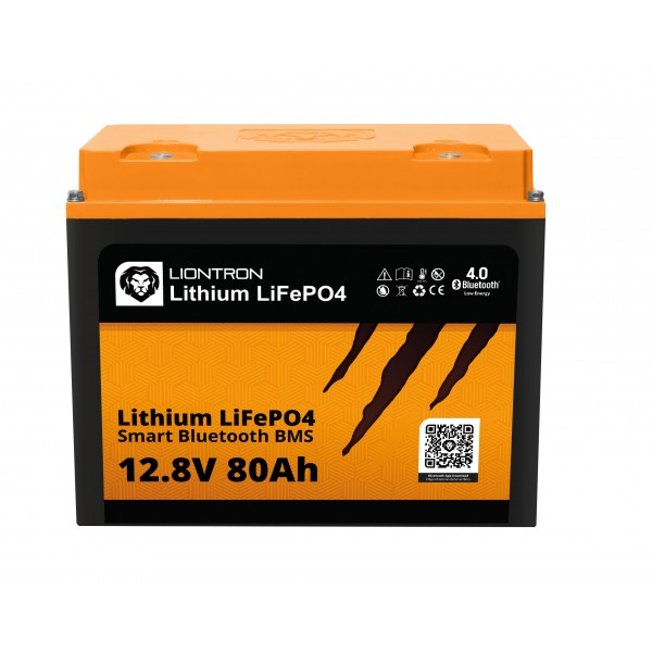 LIONTRON LiFePO4 12.8V 80Ah LX Smart BMS met Bluetooth -
