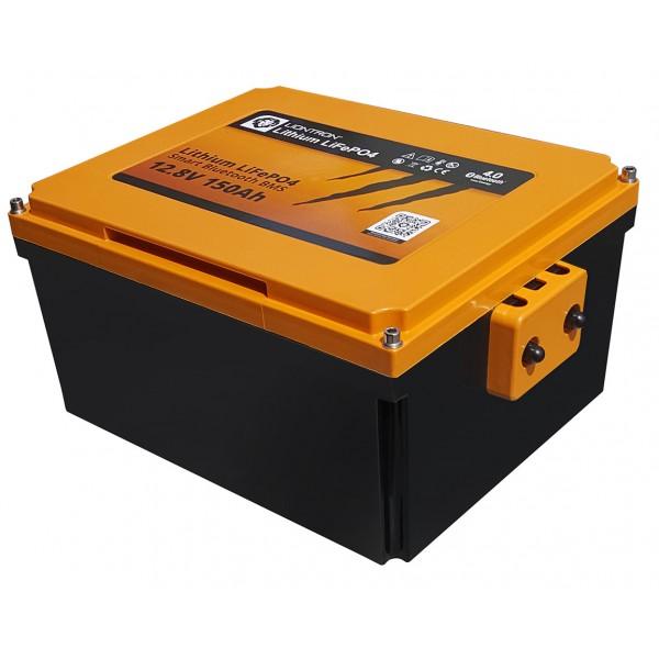 LIONTRON 12.8V 150Ah Lithium LiFePO4 Motorhome Onder Zitplaats Accu met Bluetooth -