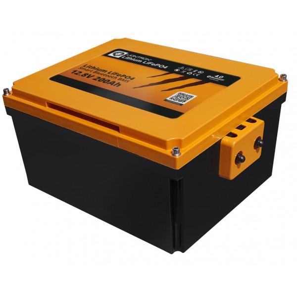 Liontron Lithium LiFePO4 LX Smart BMS 12.8V Motorhome Onder Zitbatterij Fiat Ducato 12.8V 200Ah -