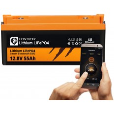 LIONTRON LiFePO4 12.8V 55Ah LX Smart BMS met Bluetooth -
