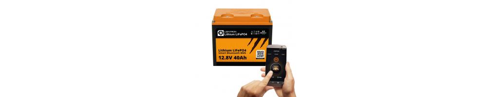 LIONTRON LiFePO4 12.8V 40Ah LX Smart BMS met Bluetooth -